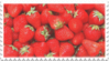 ripe strawberries stamp by GlacierVapour