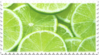 lime green citrus stamp by GlacierVapour
