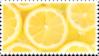 lemons yellow citrus stamp by GlacierVapour