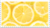 lemons yellow citrus stamp by GlacierVapour