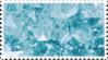 aqua blue crystal stamp 1