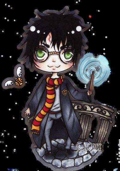 Harry Potter Chibi by TheKingOfMoths