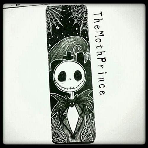 Jack Skellington Bookmark by TheKingOfMoths