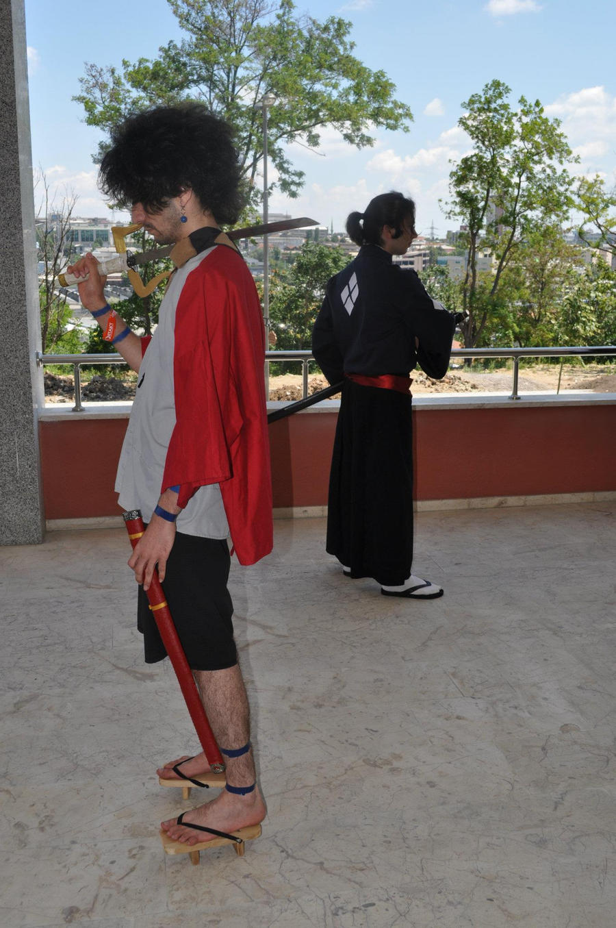 Samurai Champloo Cosplay Mugen and Jin by FantasticAlp