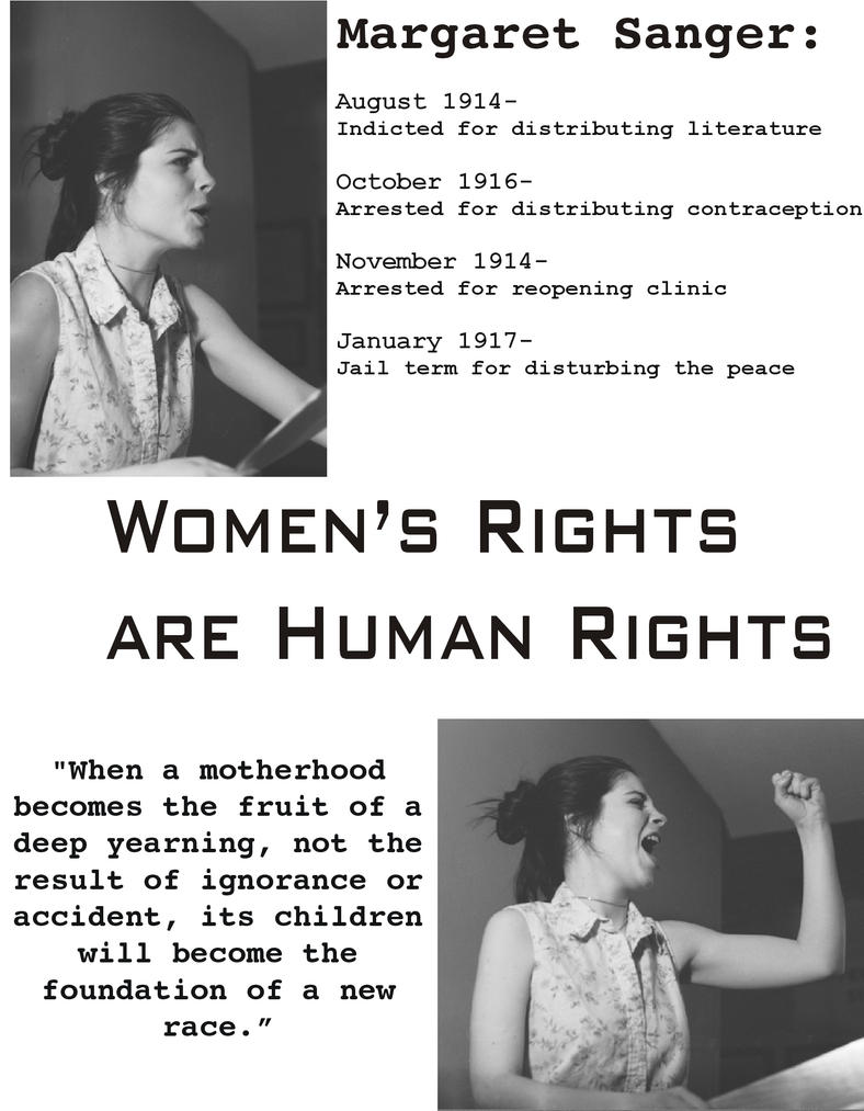 Margaret Sanger Poster 644794 on This Was A Collaborative Project I Did With One