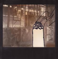 cigarette photobomb by dreadsgirl