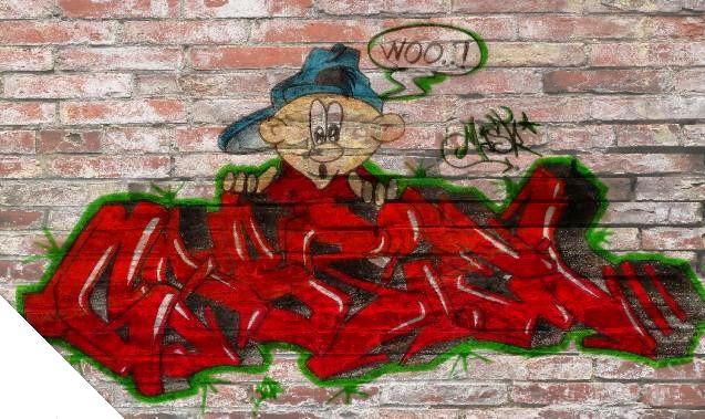 Graffiti GABRIEL by MastrGraff on DeviantArt