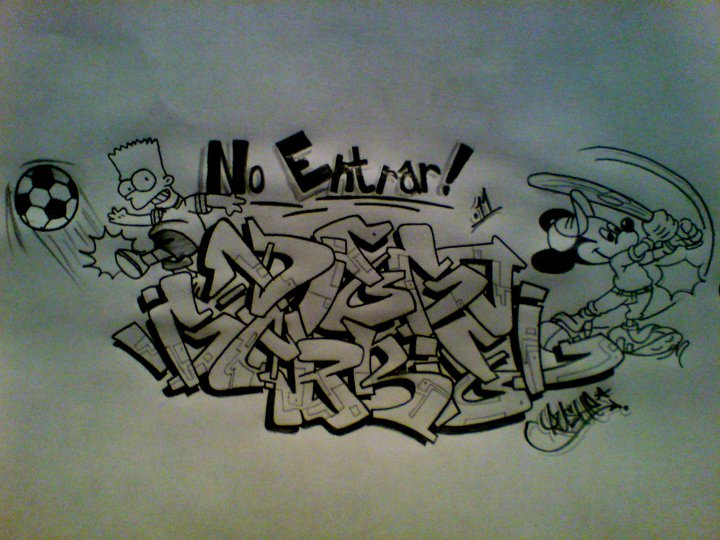 Graffiti DIEGO-GABRIEL by MastrGraff on DeviantArt