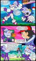 Blaze the cat in pokemon world