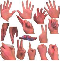 Useful hand poses by SahraJane