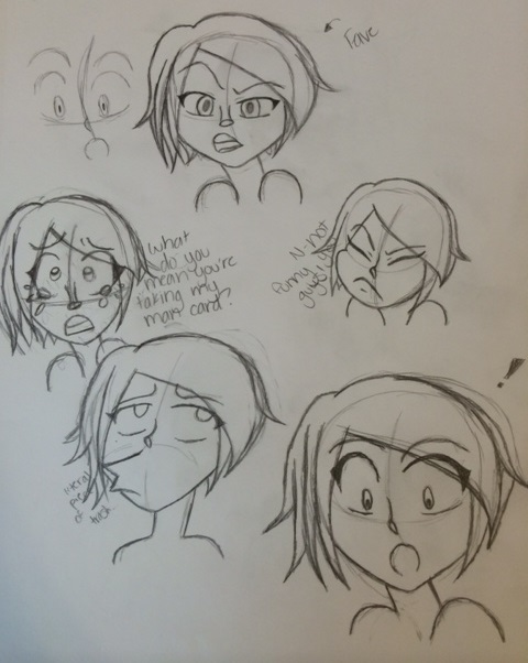 doodles by k-a-m-i-k-o