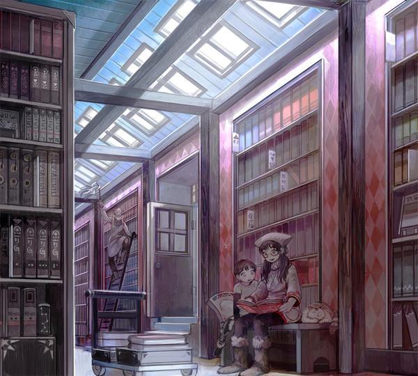 A library by simetta