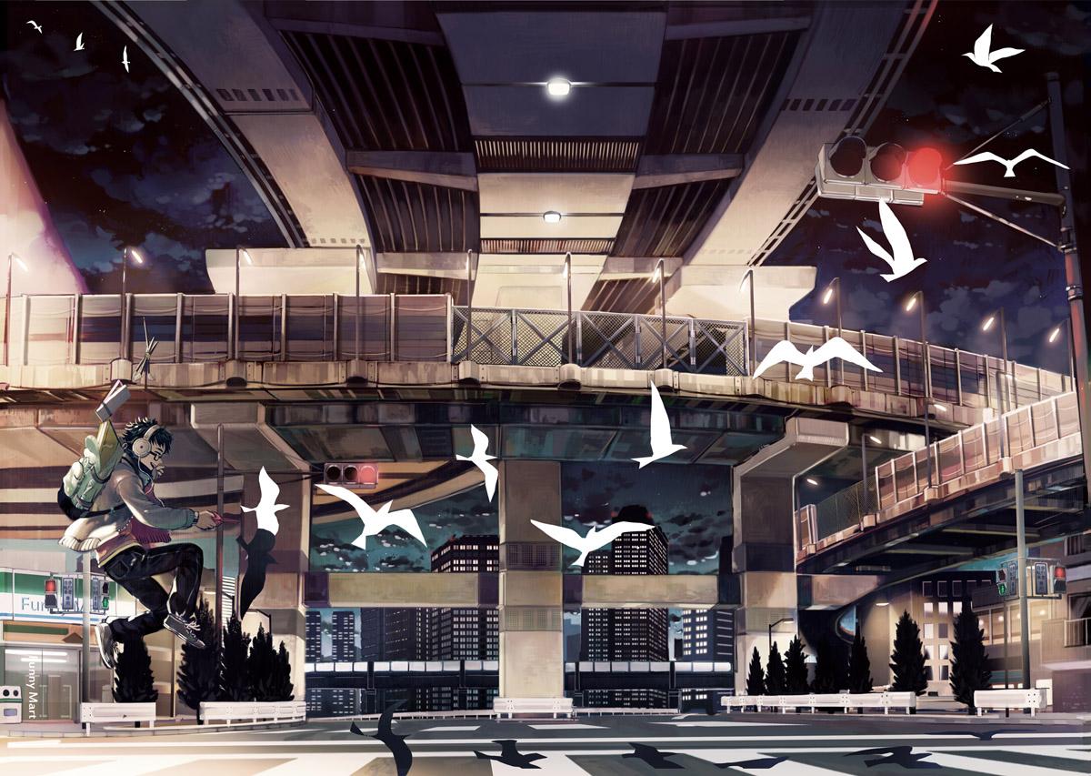 Night travel creation by simetta