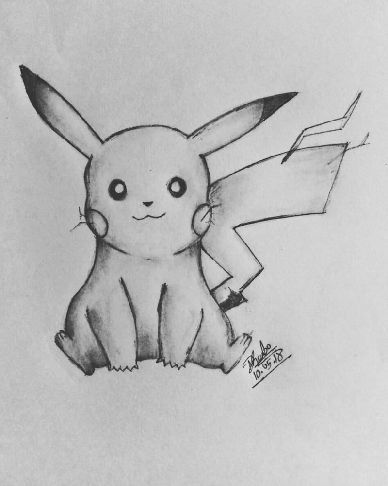 pikachu by dhrubo2002