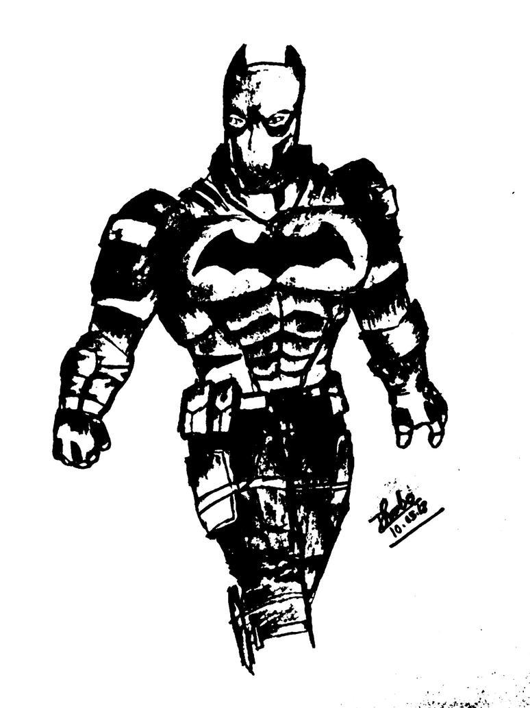 Batman by dhrubo2002