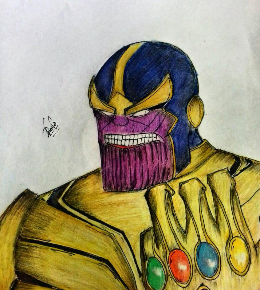 Thanos by dhrubo2002