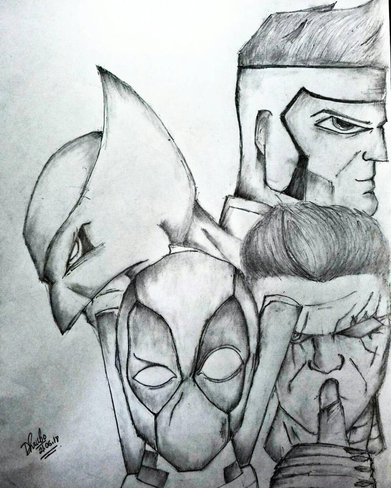 Xmen and X-Force by dhrubo2002