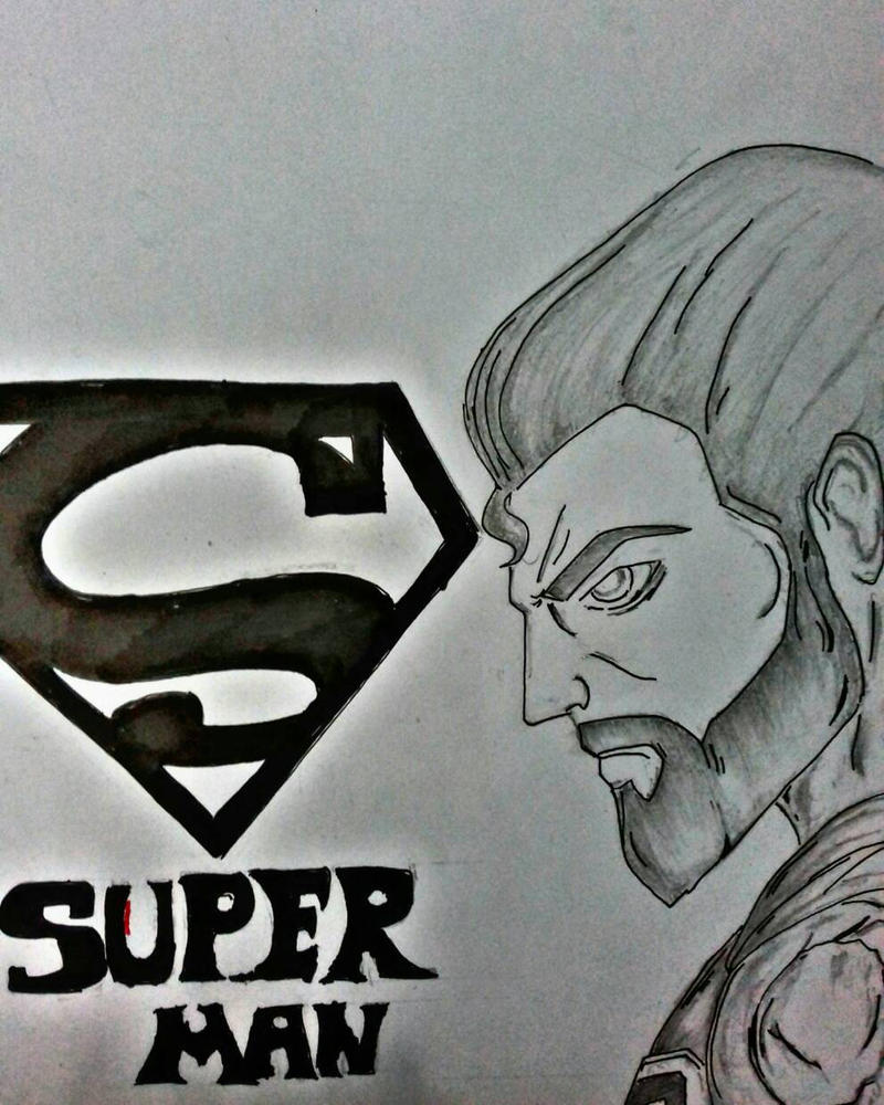 Superman by dhrubo2002