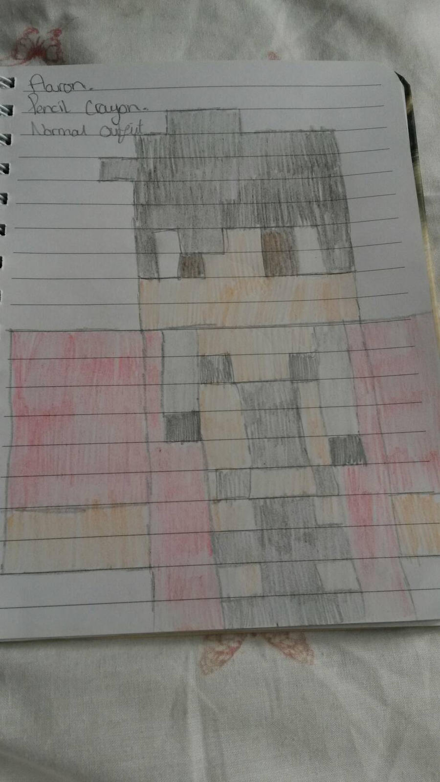 Aaron my street outfit minecraft skin #aphmau by Icefang63