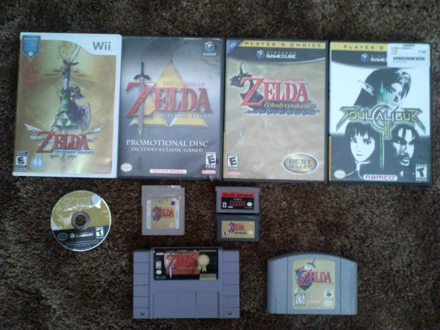 My Zelda Collection