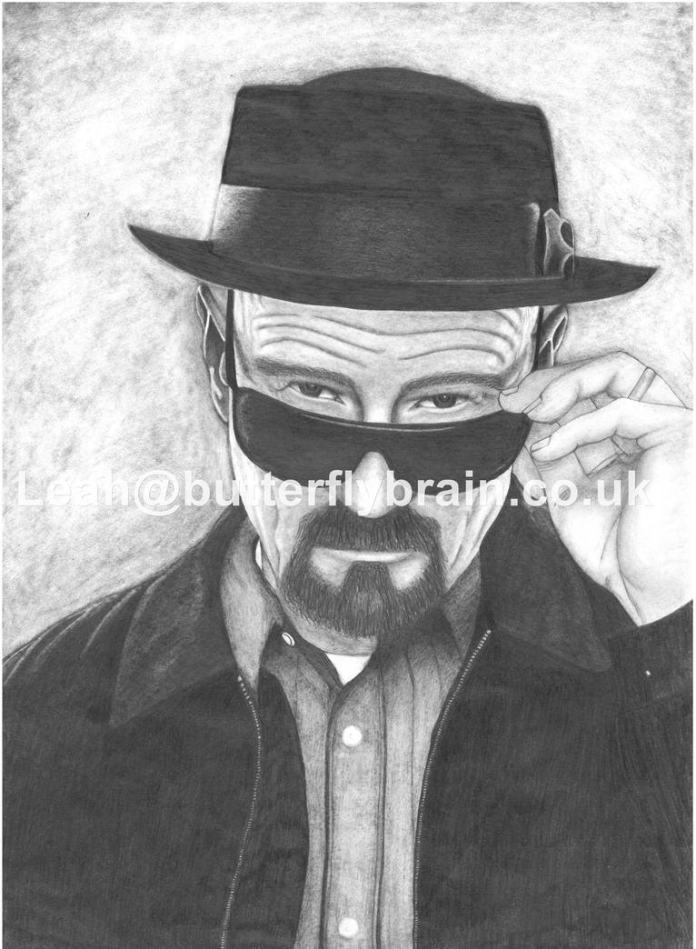 Heisenberg (Pencil Sketch) By Butterfly-Brain On DeviantArt