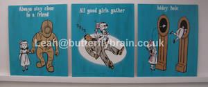 Bioshock Little Sister Educational Posters x 3