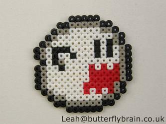 c701f0757 Thycove 0 0 Mario (hama) Boo sprite by Butterfly-Brain