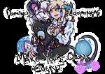 (CLOSED) Loomyneas+Dimlynes FREE MYO Event by SurviDoodles