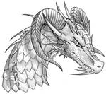 016 . Dragon Head Sketch