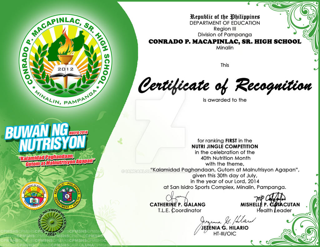 Nutrition month certificate by iamcarloluna on deviantart nutrition month certificate by iamcarloluna nutrition month certificate by iamcarloluna yelopaper Gallery