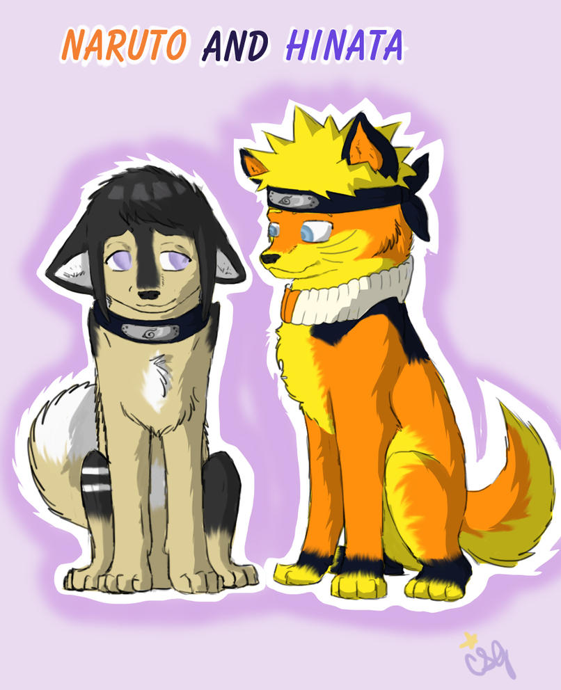 Naruto And Hinata By DogWolf129 On DeviantArt