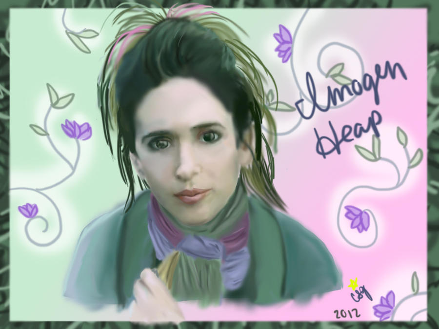 Imogen Heap Speeding Cars: Imogen Heap By DogWolf129 On DeviantArt