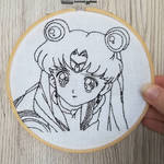 Sailor Moon restitched by CraftyLioness