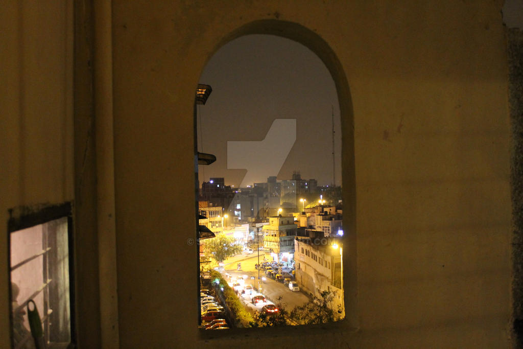 A Window into the Heart of the City by ssimon14