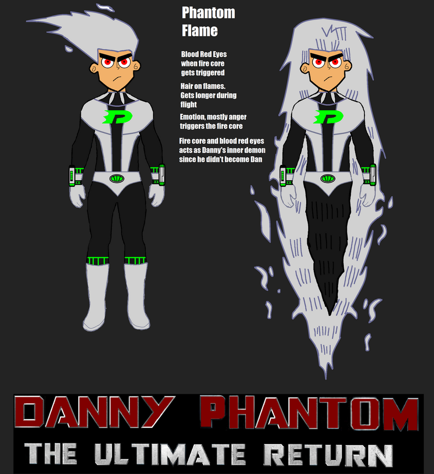 Danny And Dani Phantom Assembled 4 By Looneyaces On - Imagez co