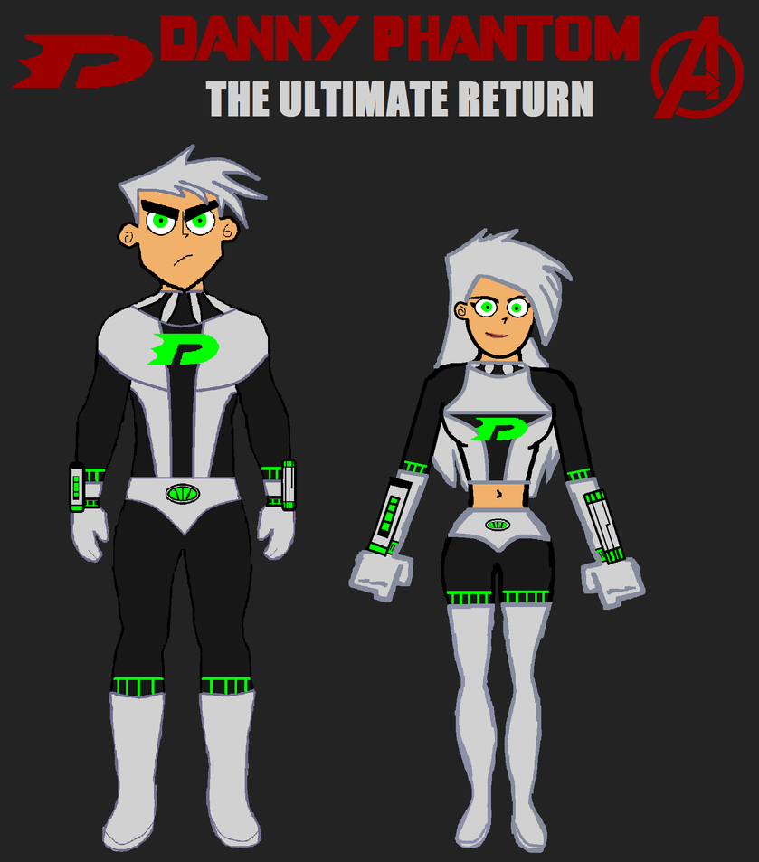 Danny Phantom: The Ultimate Return DPxMCU Cover. by LooneyAces