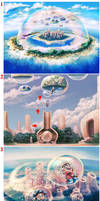art of Dream Bubble Island