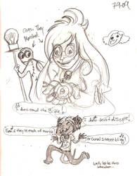 June 9th doodles