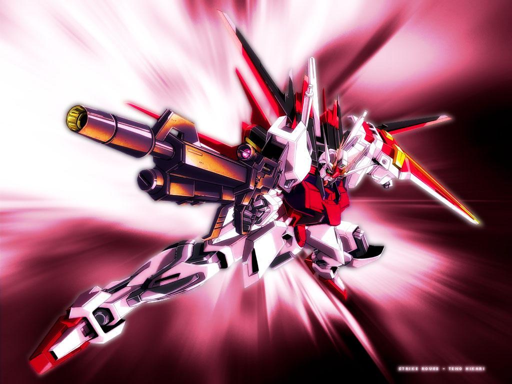 Strike Rouge Reanimate The Inner Gundam Inside You: 25+ Formidable Gundam Wallpaper Designs