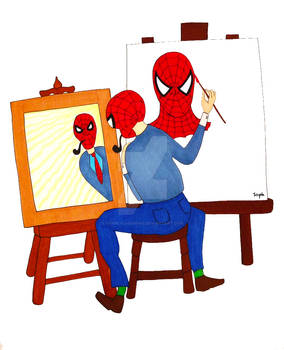 Norman Rockwell meets Spider-Man
