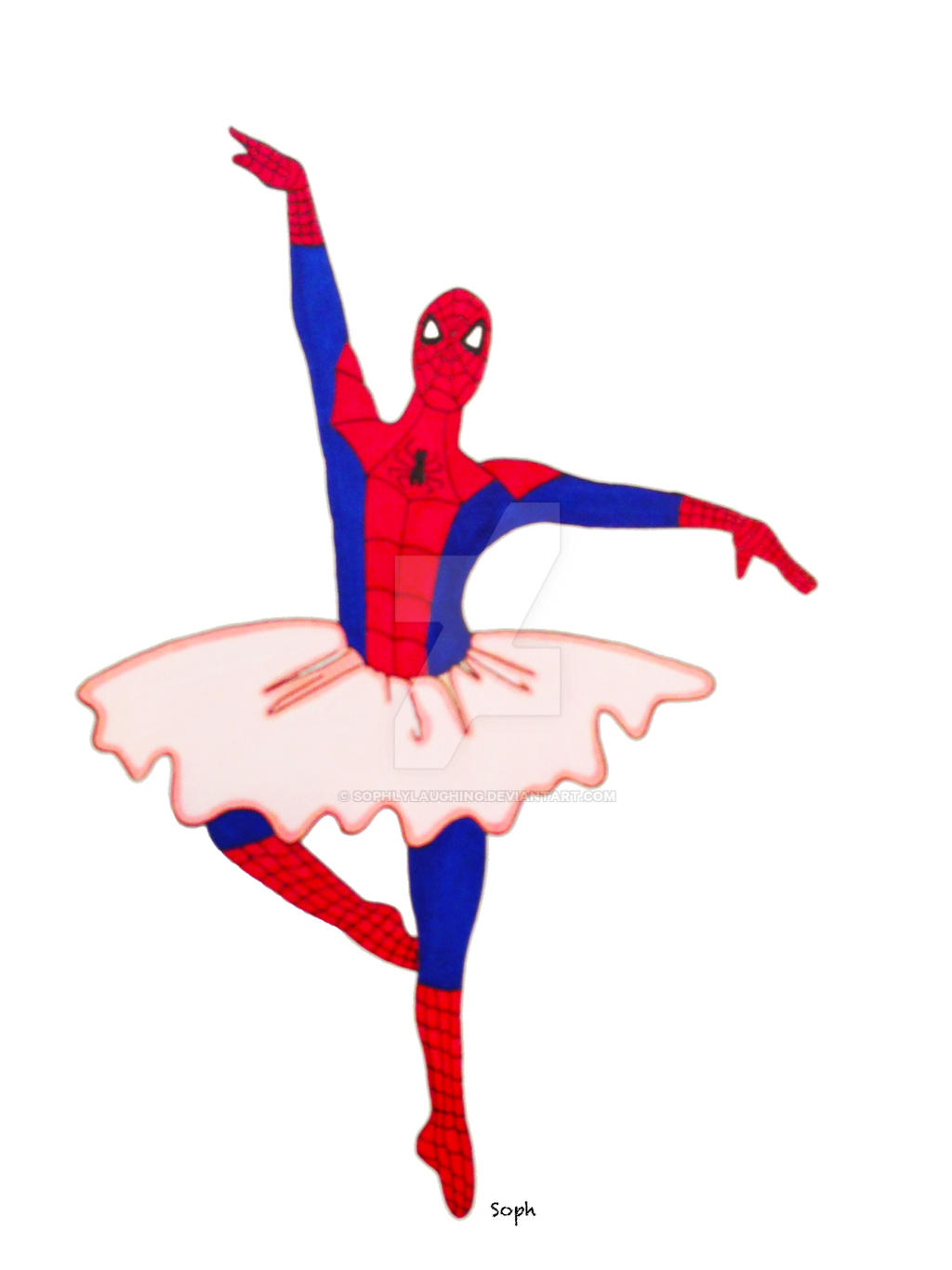 Spider-Man Ballet by SophlyLaughing