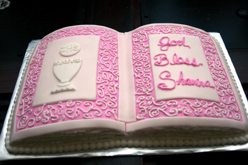 How To Make Open Bible Cake