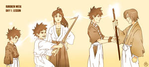 Yahiko's Journey by Anubis-005