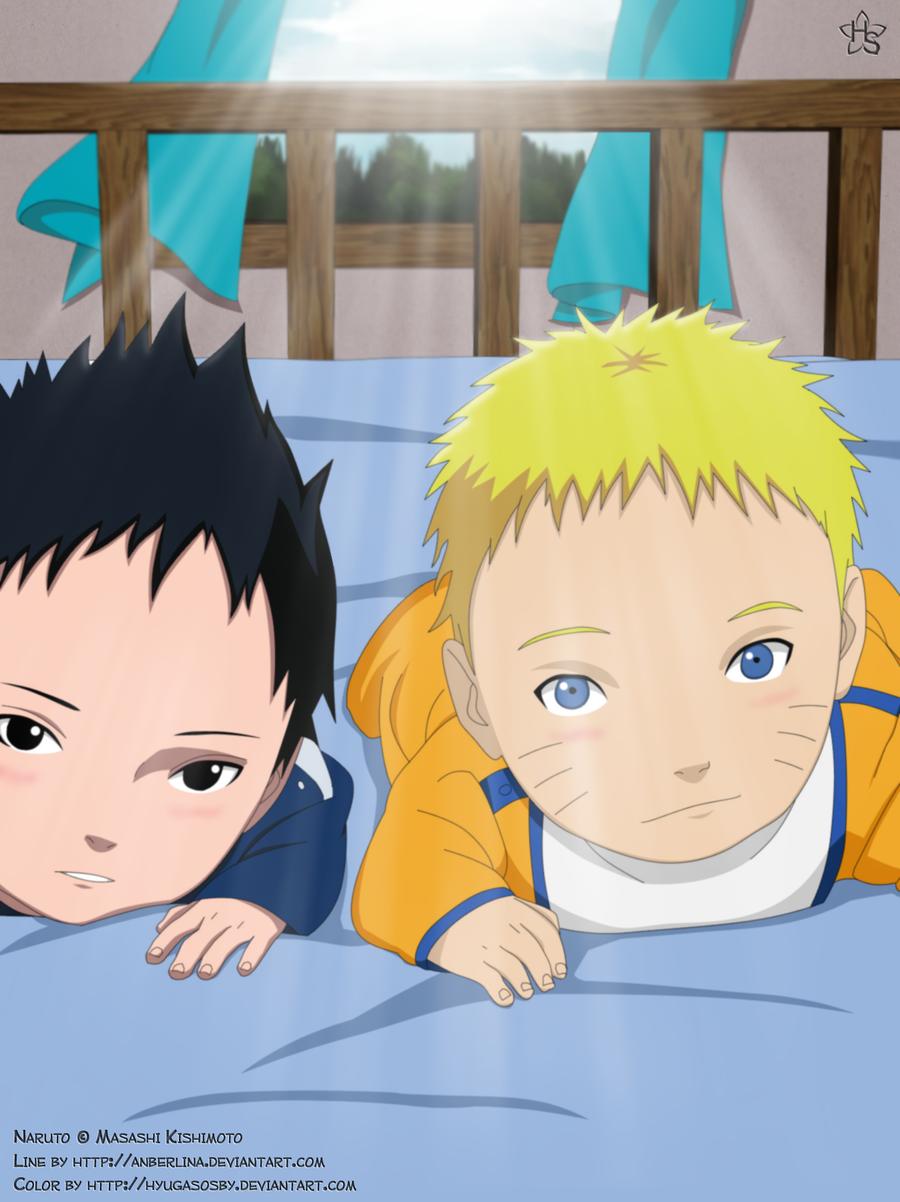 Naruto and Sasuke Baby's by hyugasosby on DeviantArt