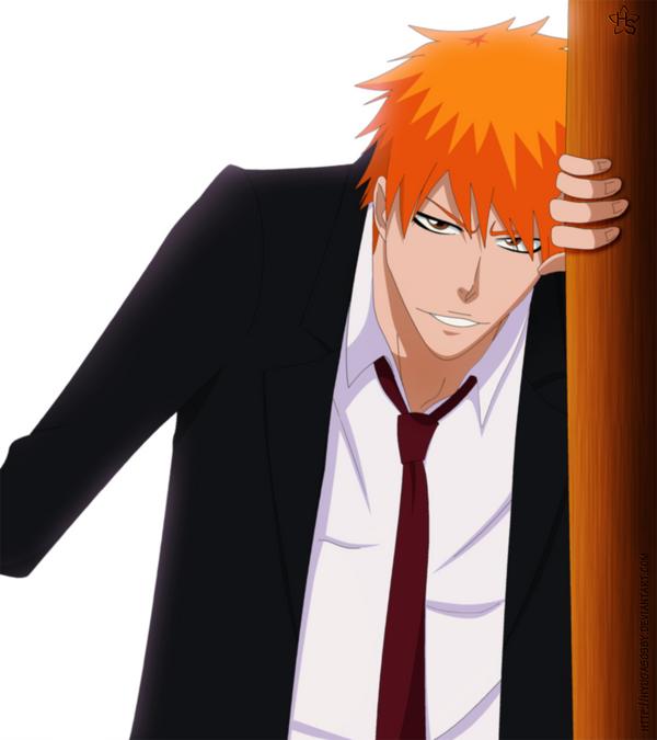 Ichigo with suit by hyugasosby