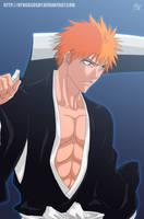 Kurosaki Ichigo: Bleach-Souls by Nagadih