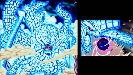 Naruto 621- Kyuubi Susano's armor