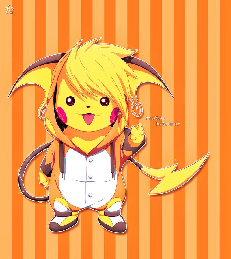 Pikachu by hyugasosby