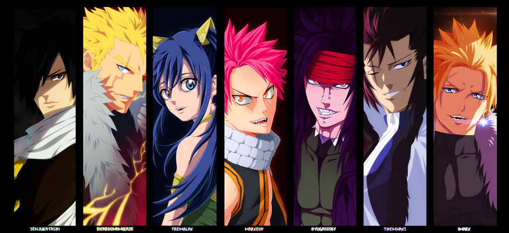 fairy tail 7 dragon slayers