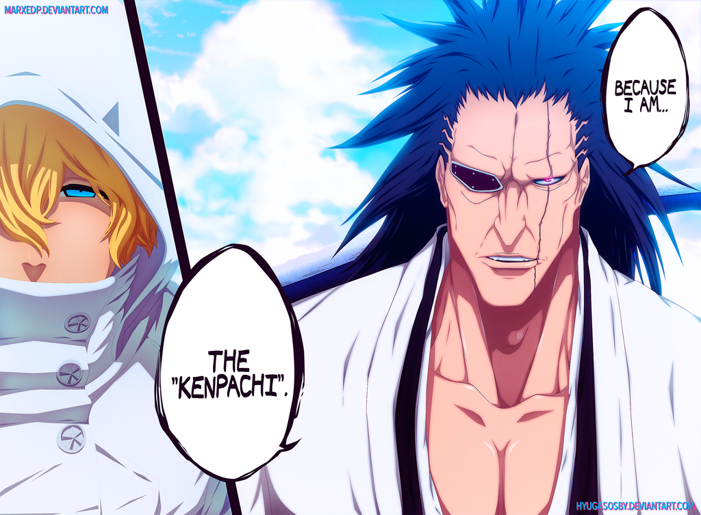Kenpachi zaraki new look